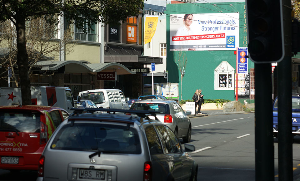 Billboard W005 95 Victoria Street Wellington